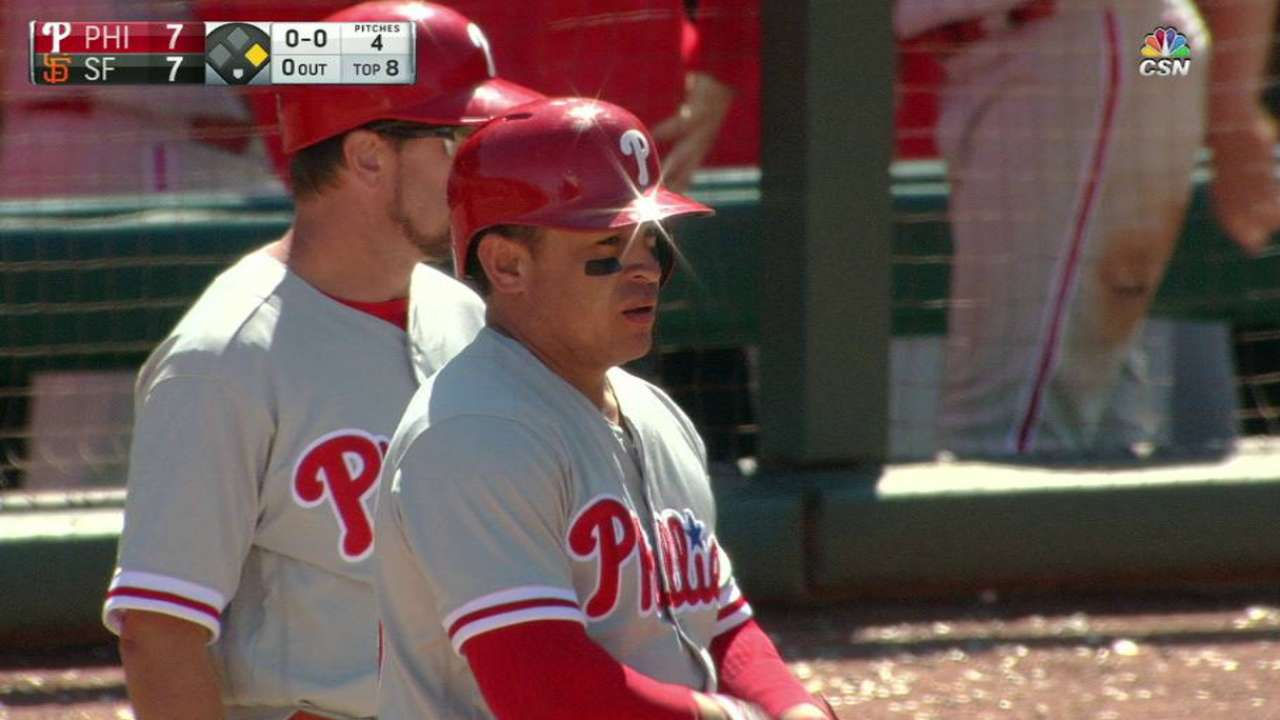 Phillies scrap back before falling in walk-off