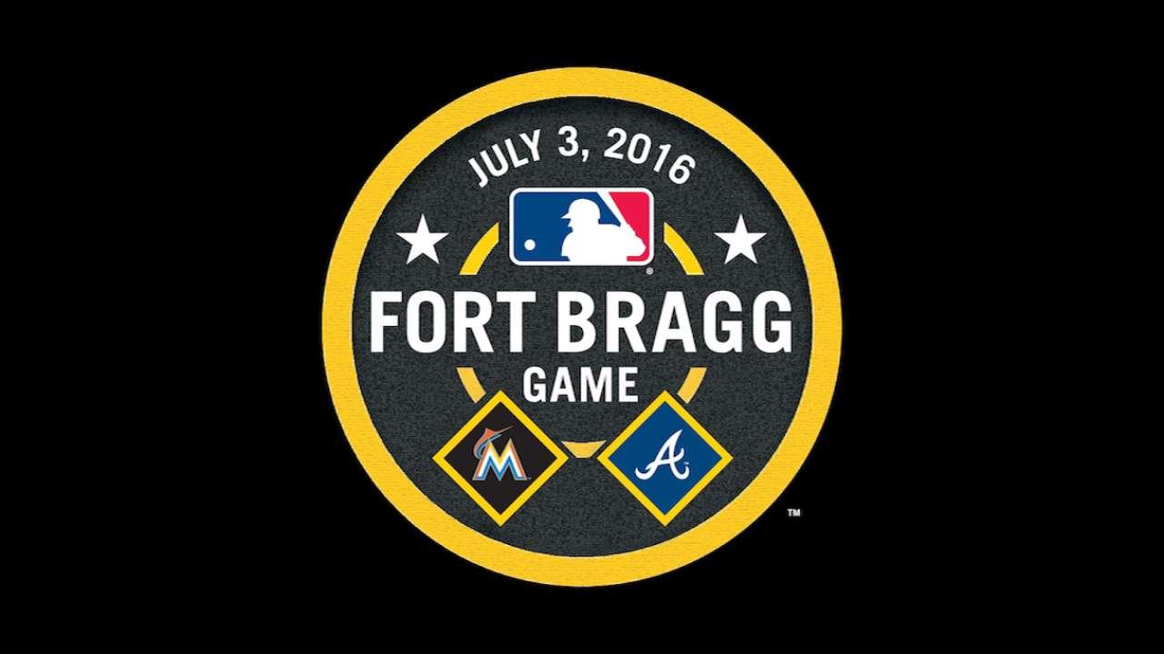 Pierzynski, Braves thrilled to play at Ft. Bragg