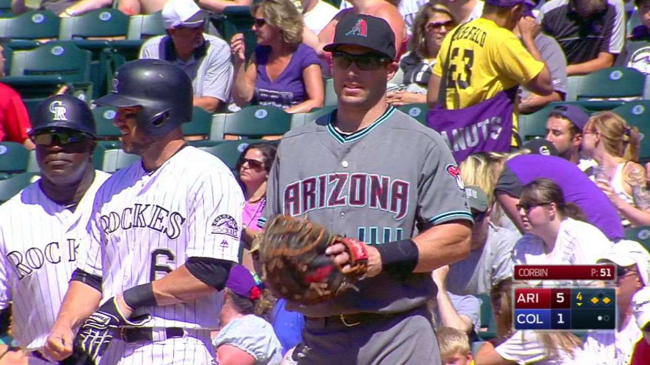 Goldy's nice play at first