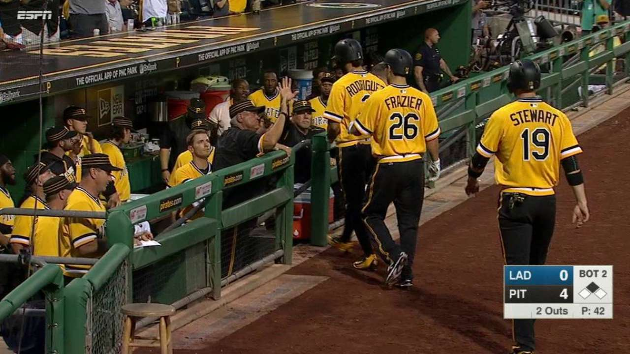 Freese's bases-clearing double