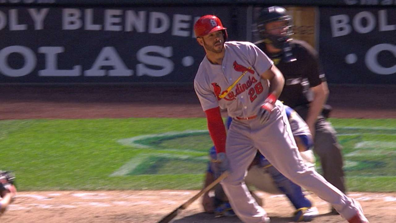 Cards swat six homers