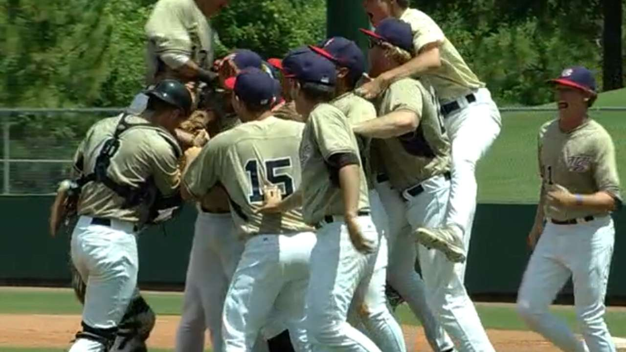 Team Brave takes Tournament of Stars title game in pitchers' duel