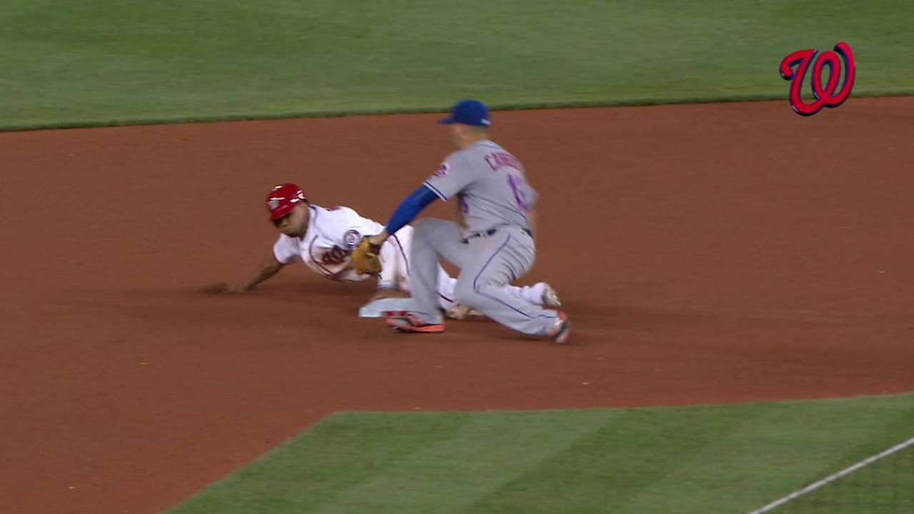 Revere's third steal of the game