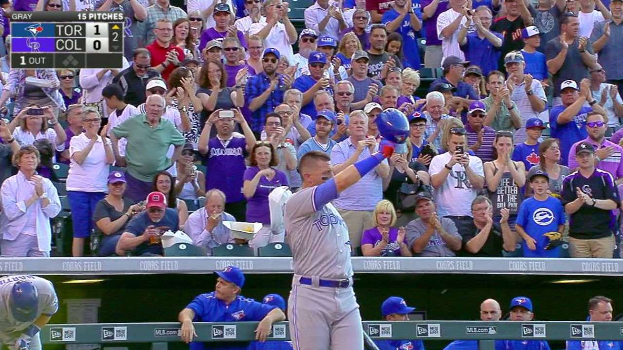 Tulo receives warm ovation