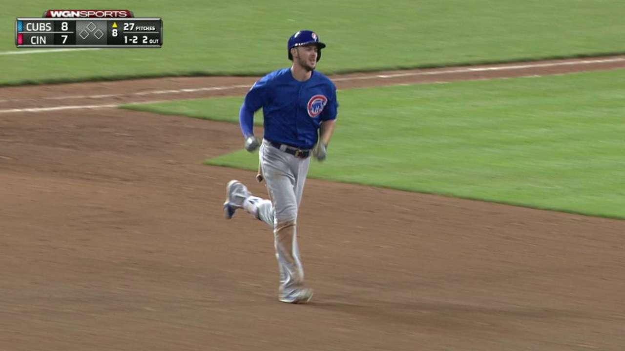 Bryant's third homer