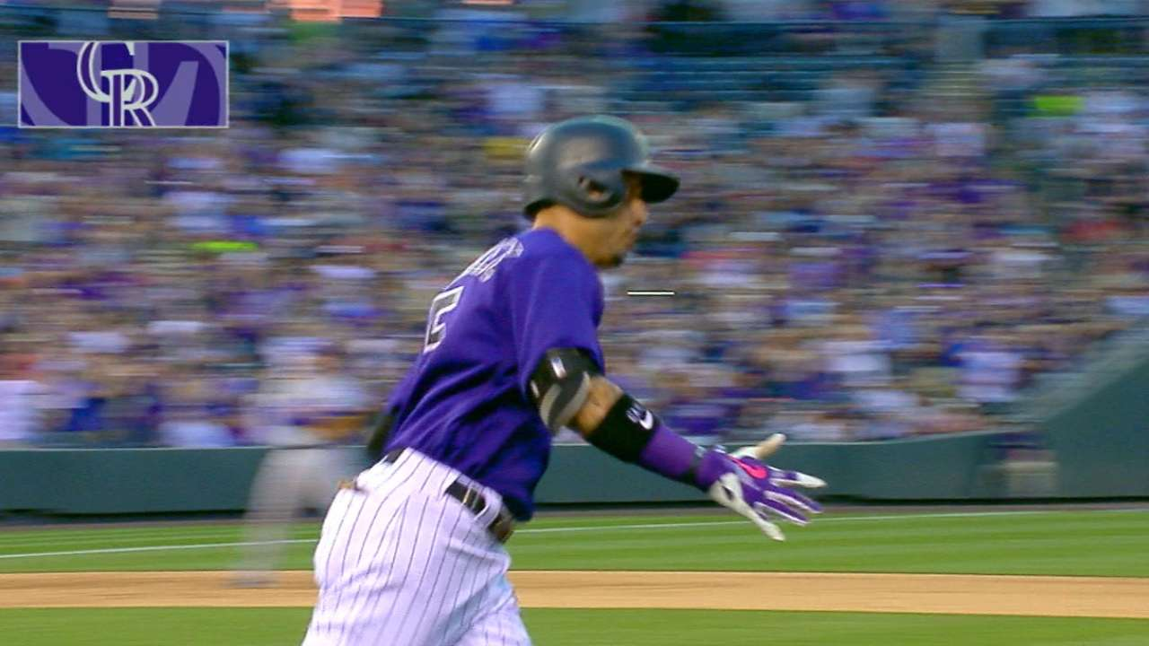 CarGo's three-run homer