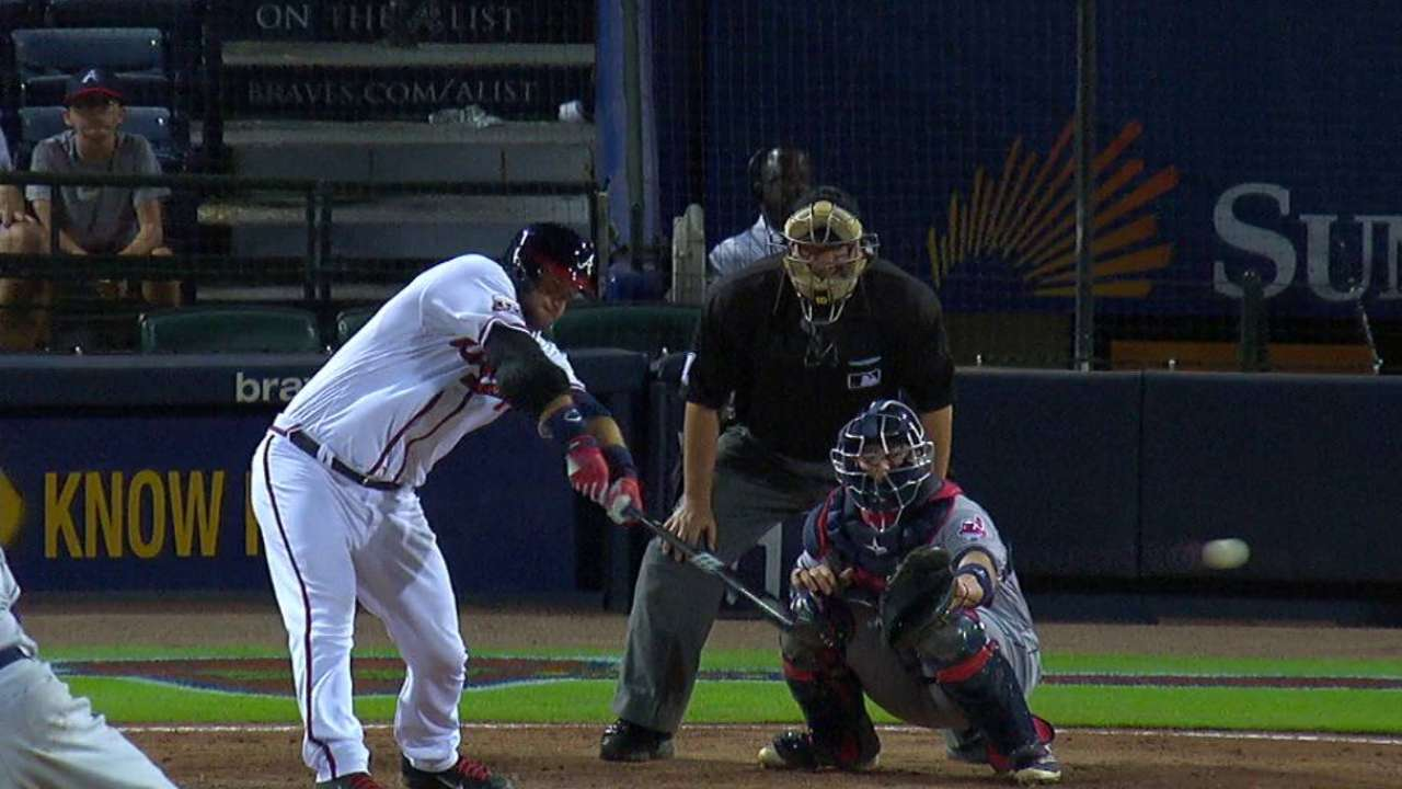 Braves have a manager behind the plate