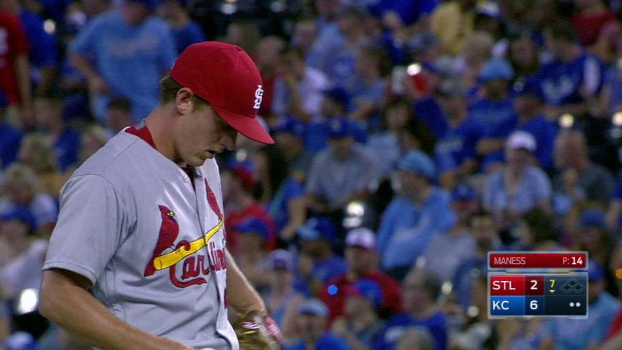Maness, Rosenthal look sharp in relief roles