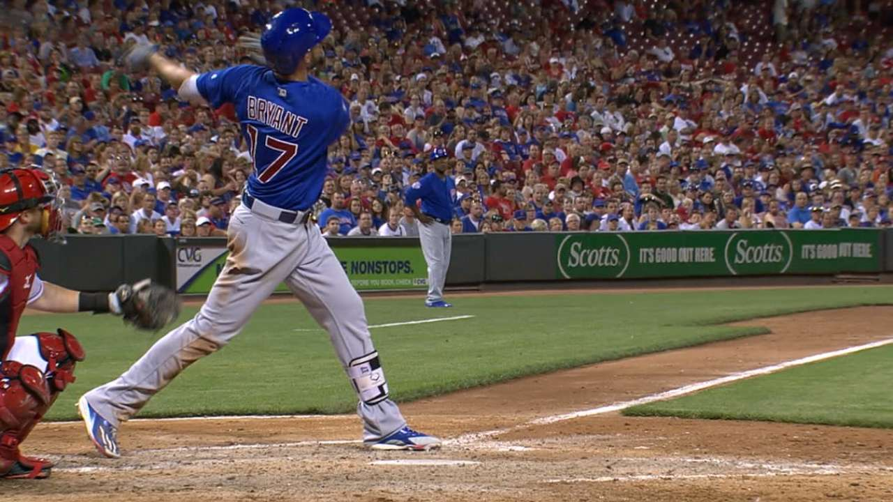 Must C: Bryant's three home runs