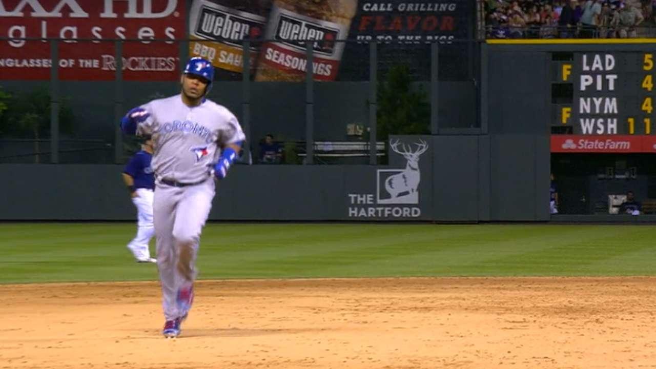 Encarnacion hits two home runs