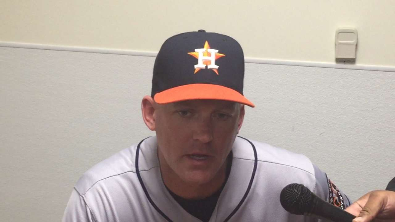 Hinch on Astros' 4-2 win