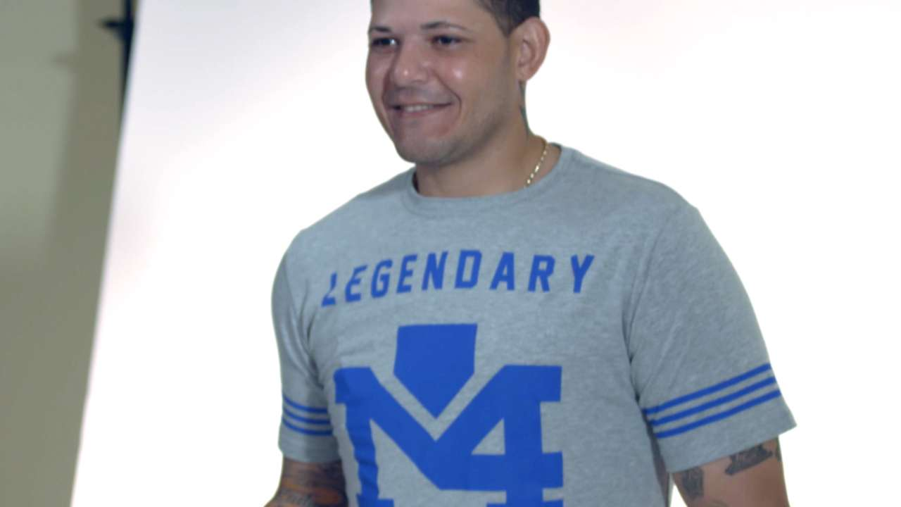 Molina to sell clothing line at Busch Stadium