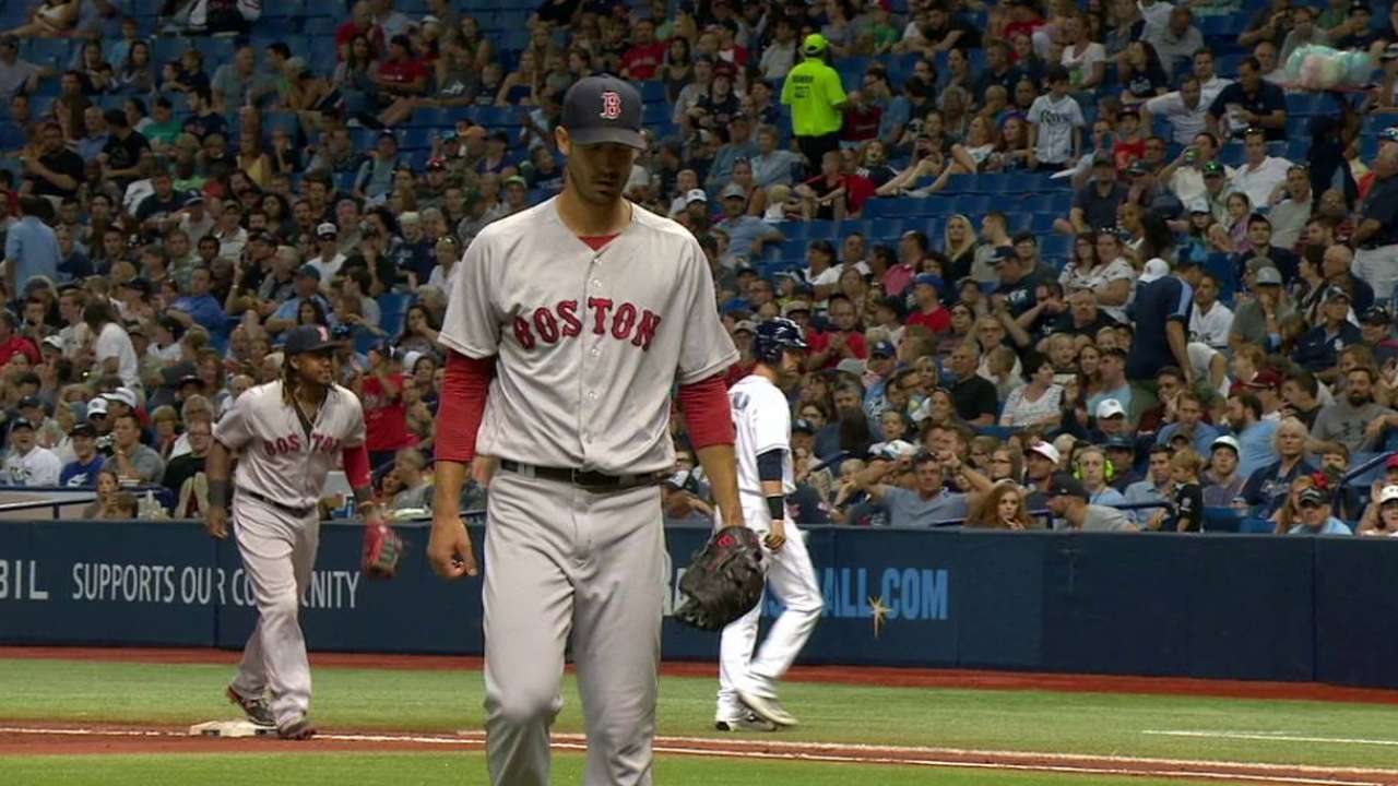 Porcello limits damage in 4th