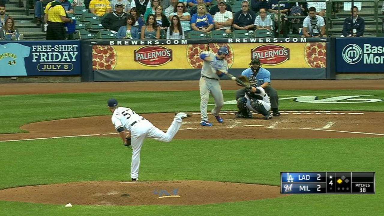 A-Gon's RBI double