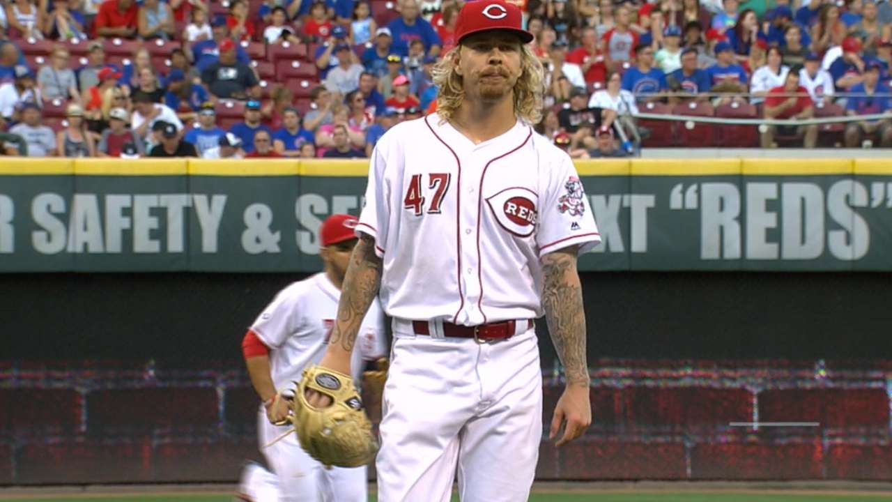Rays acquire left-hander Lamb from Reds
