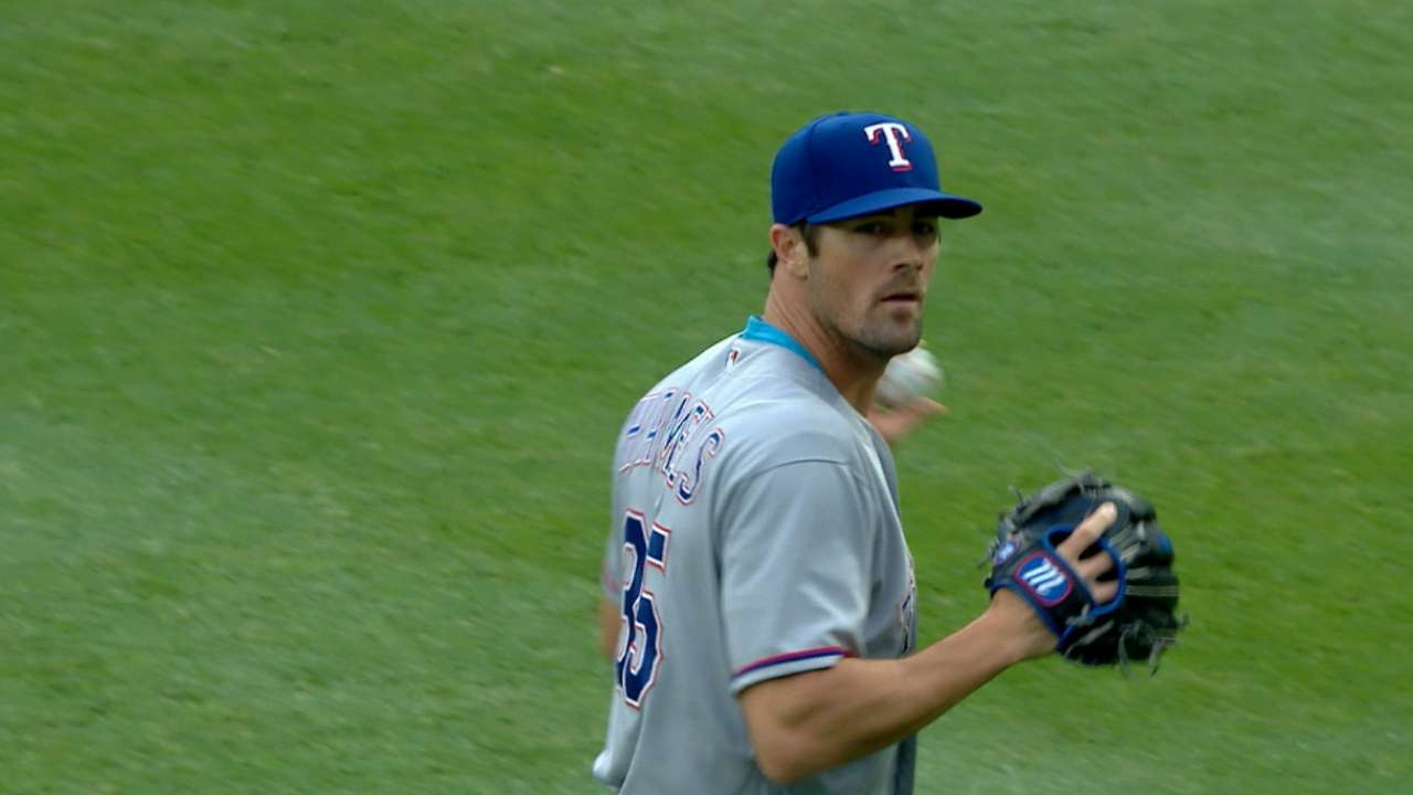 Keeping Hamels fresh a priority for Rangers