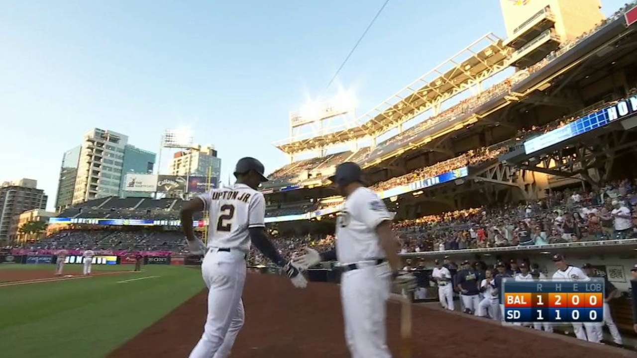 Upton Jr.'s leadoff home run