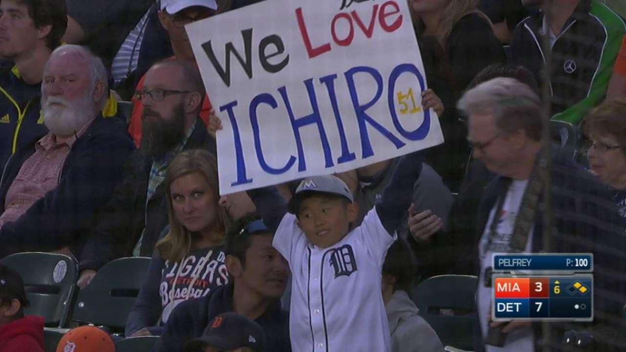 Ichiro's 2,985th career hit