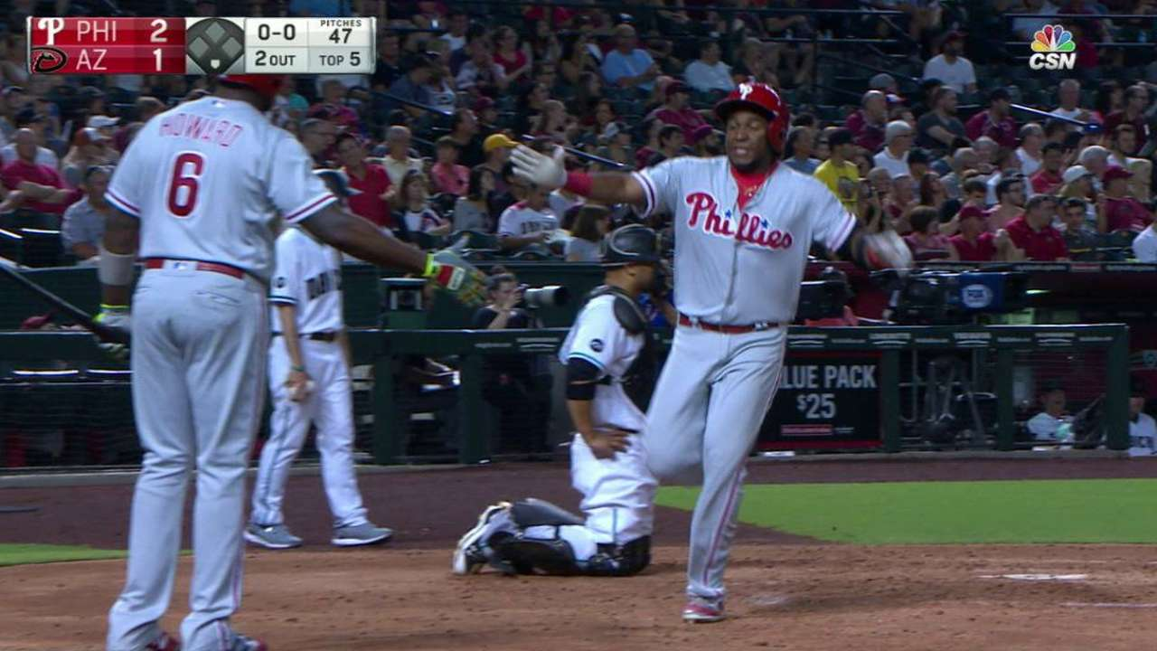 9th-inning rally lifts Phillies over D-backs