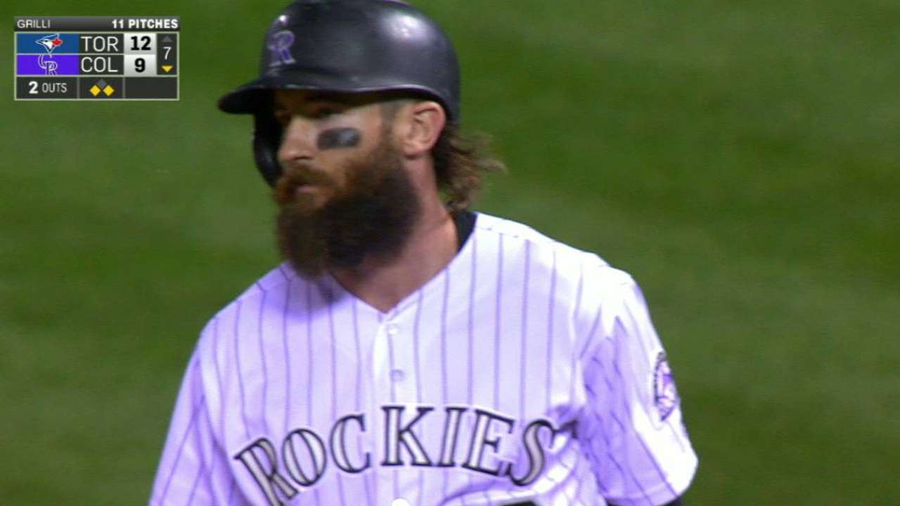 Blackmon proving durable for Rockies