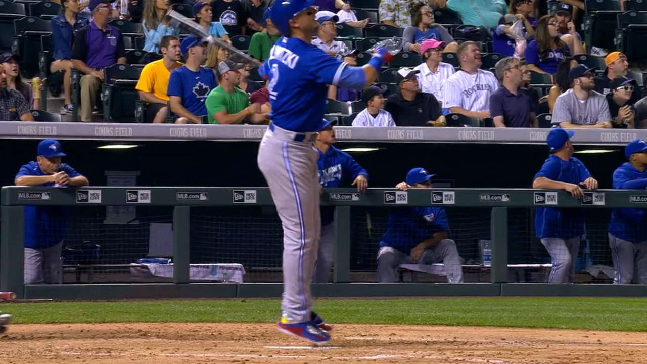 Must C: Tulo homers at Coors