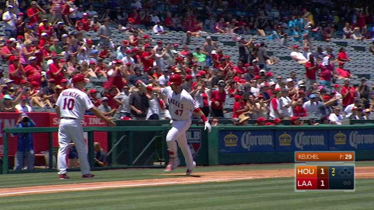Bandy's solo home run