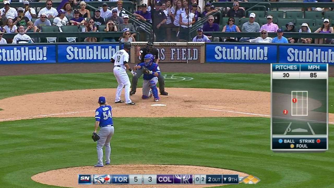 Osuna fans Adames to end game