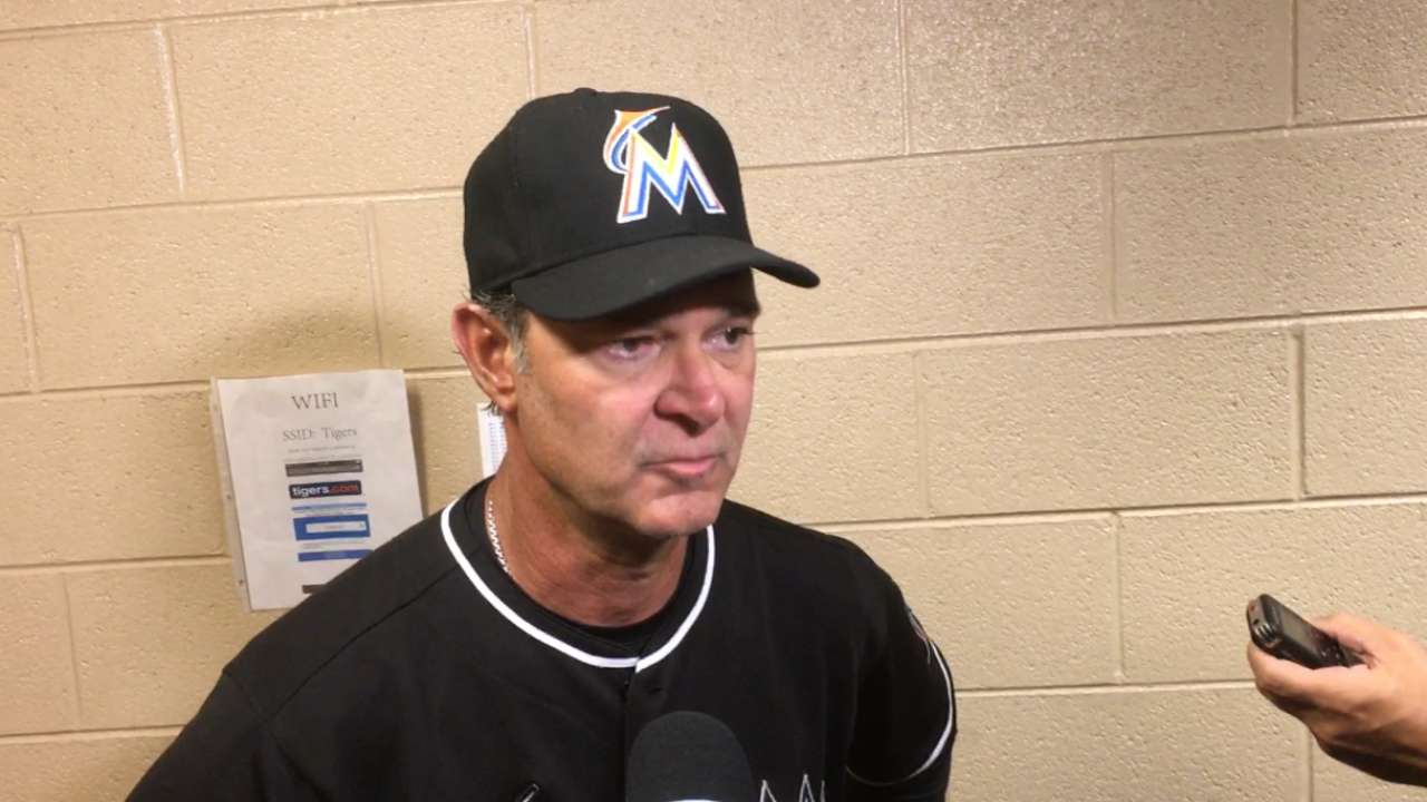Mattingly on 10-3 loss to Tigers