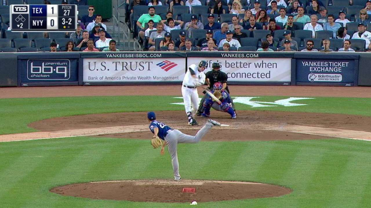 Headley's solo home run