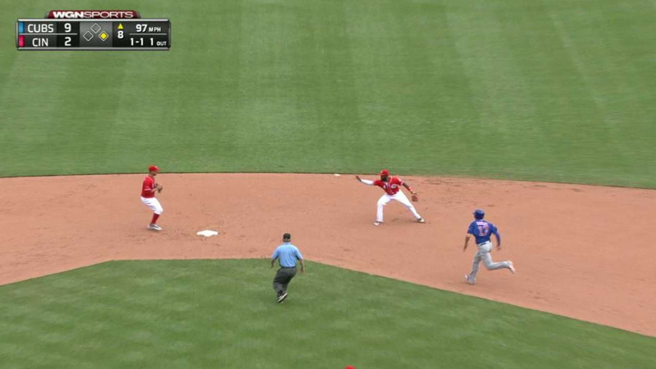 Reed, Reds can't recover after falling behind early