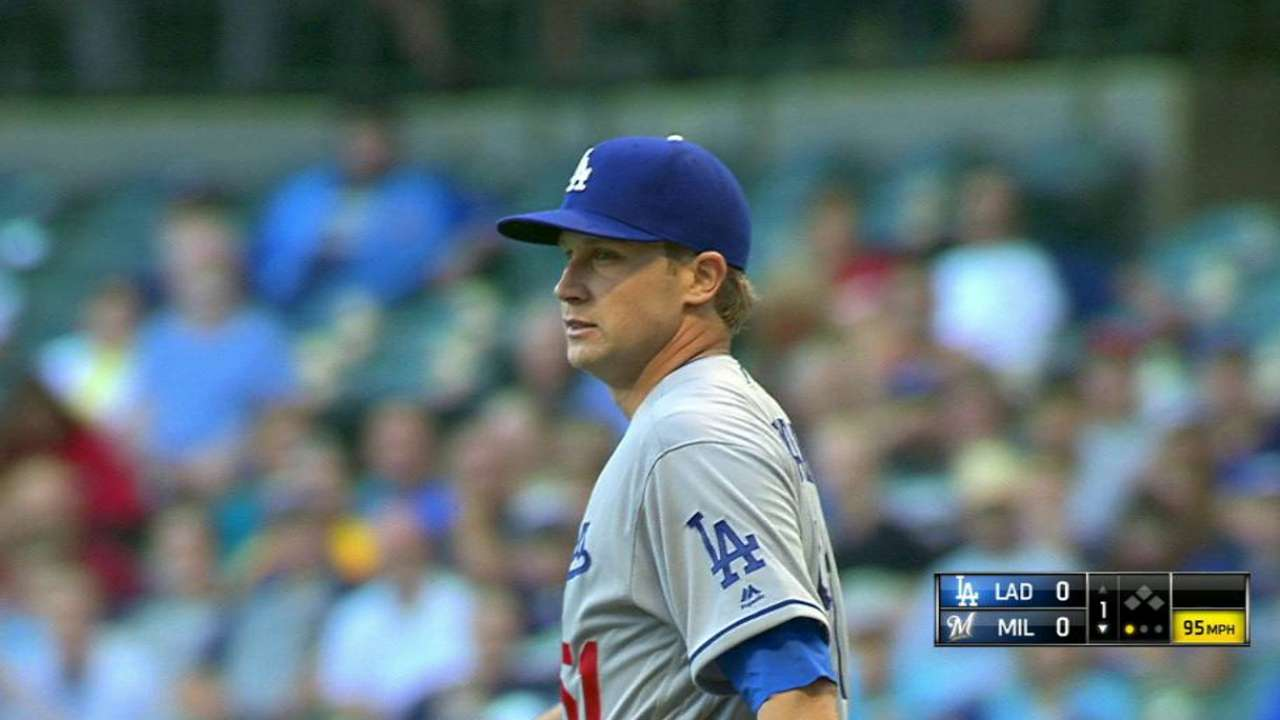 Dodgers' starting pitching depth being stretched thin