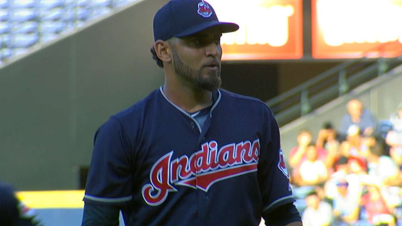 Tribe umph! Indians' streak strikes 12