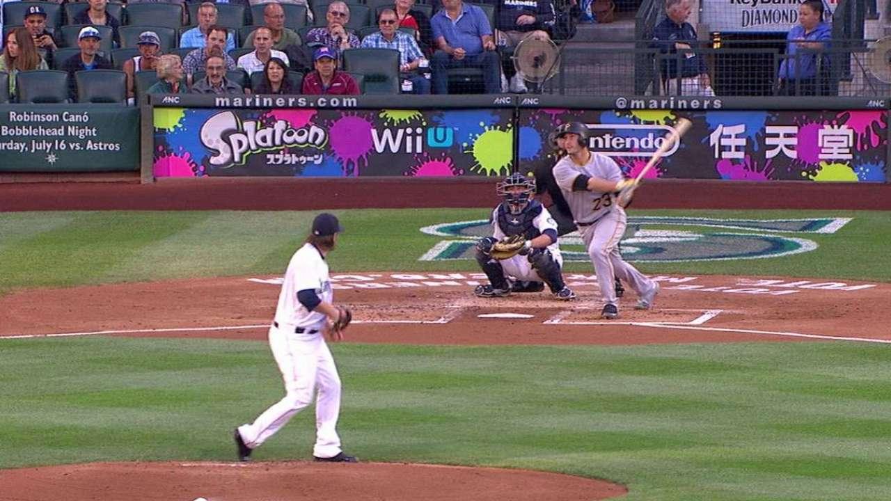 Freese's solo home run