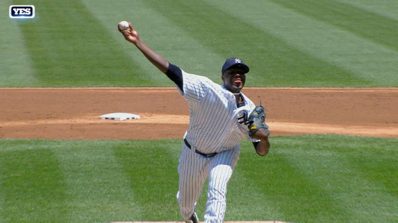 Tras joya de Pineda, Yankees vuelven a dejar tendidos a Rangers