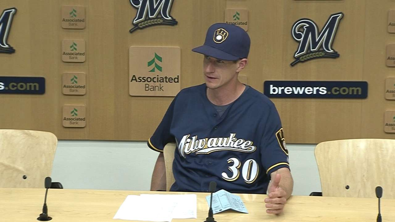 Counsell on Brewers' 8-1 loss