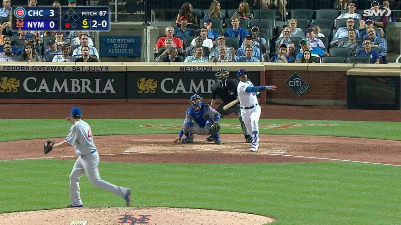 El enorme batazo de Céspedes sirvió de un gran impulso para Mets
