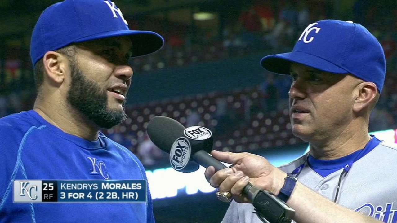 Morales on big game, 4-2 win