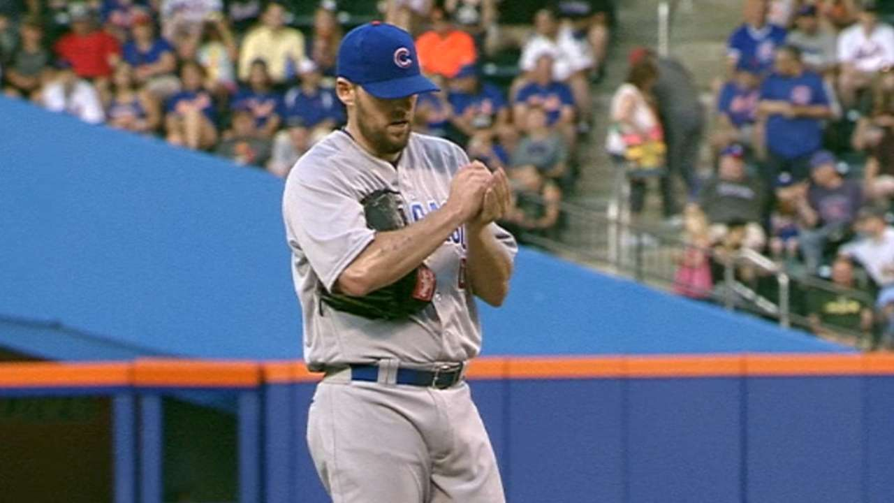 Things unravel for Cubs in fateful seventh