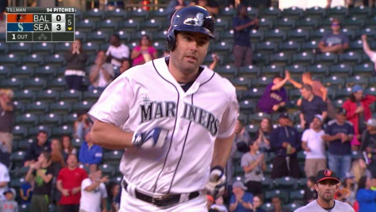 Walker domina y Marineros doblegan a los Orioles