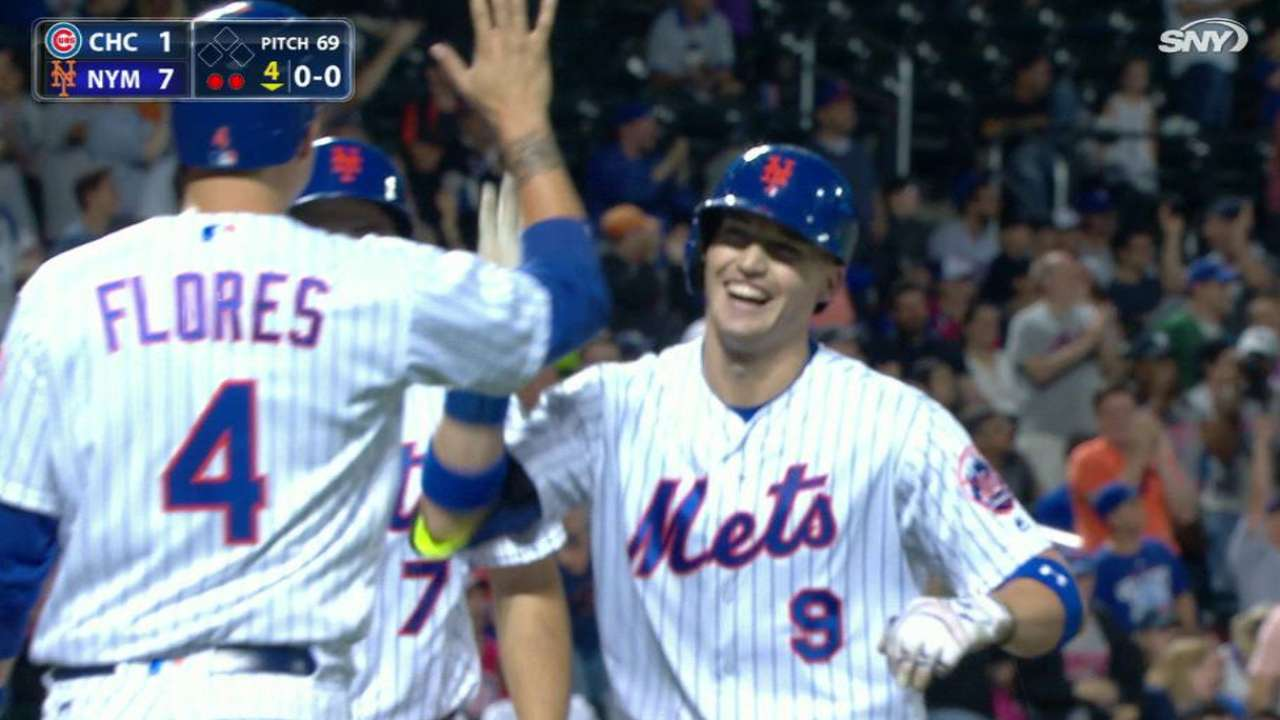 Nimmo's first career homer