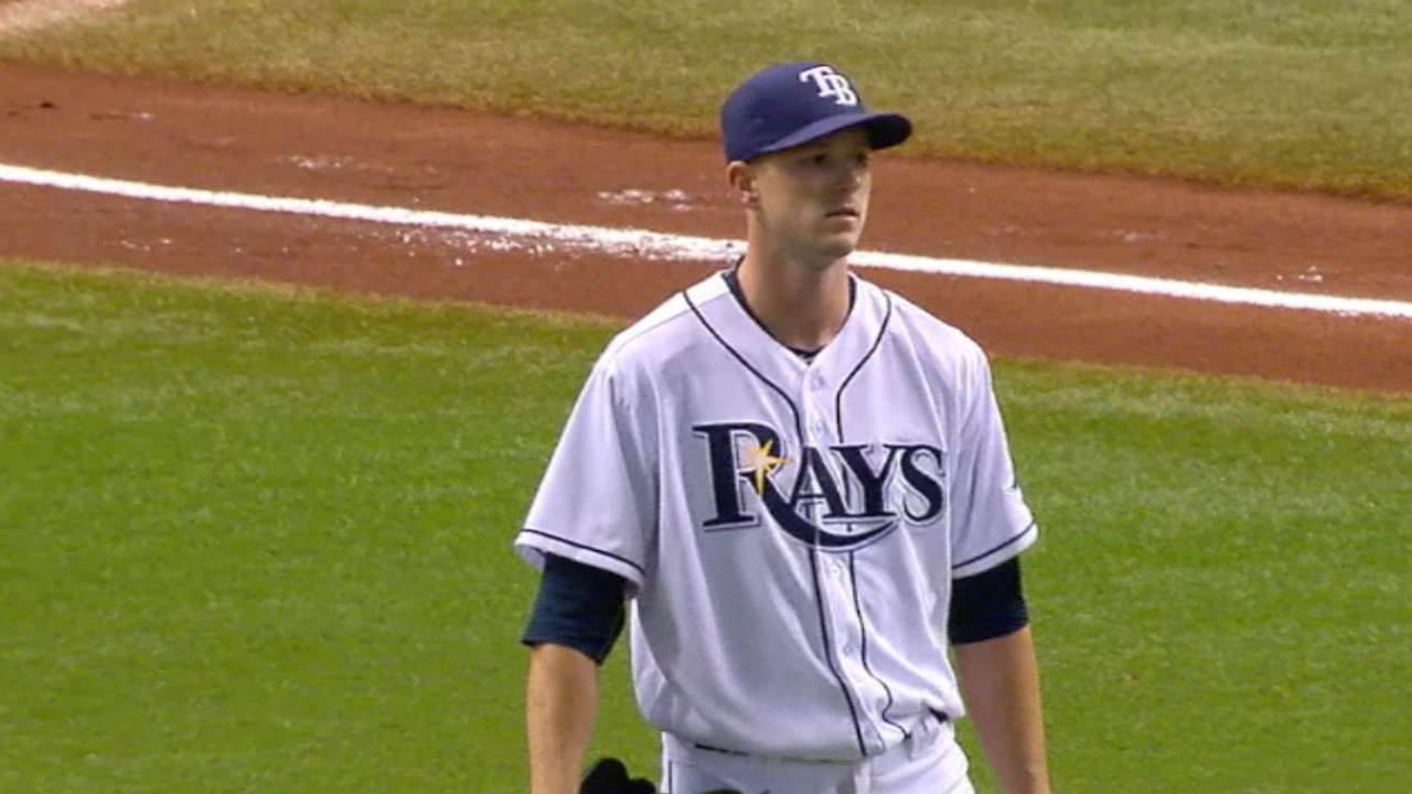 Smyly strikes out eight