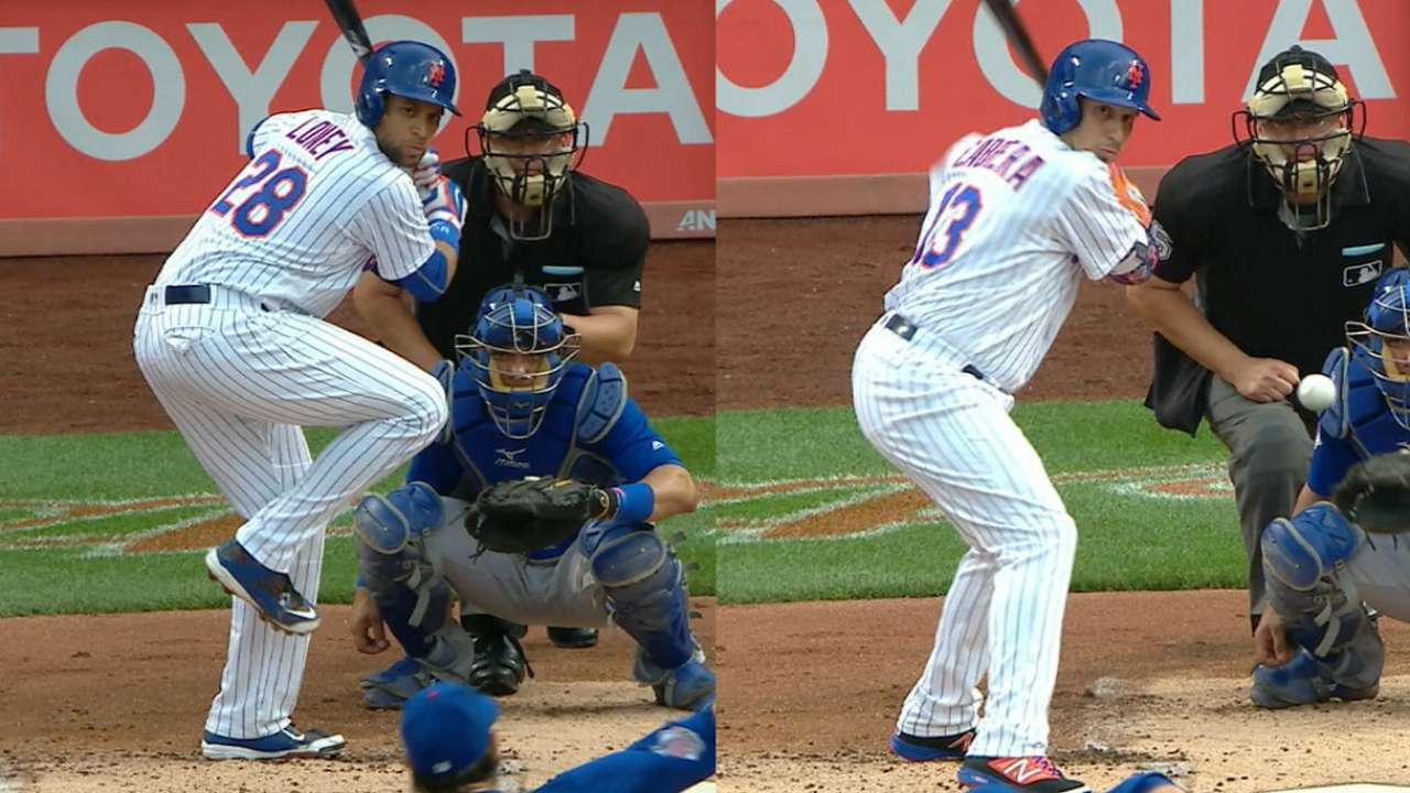 Mets pour it on in rainy win over Cubs
