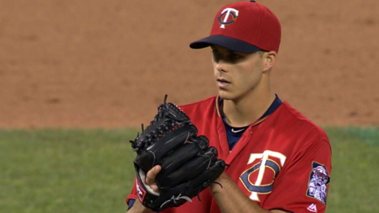 Rogers growing accustomed to Twins' bullpen