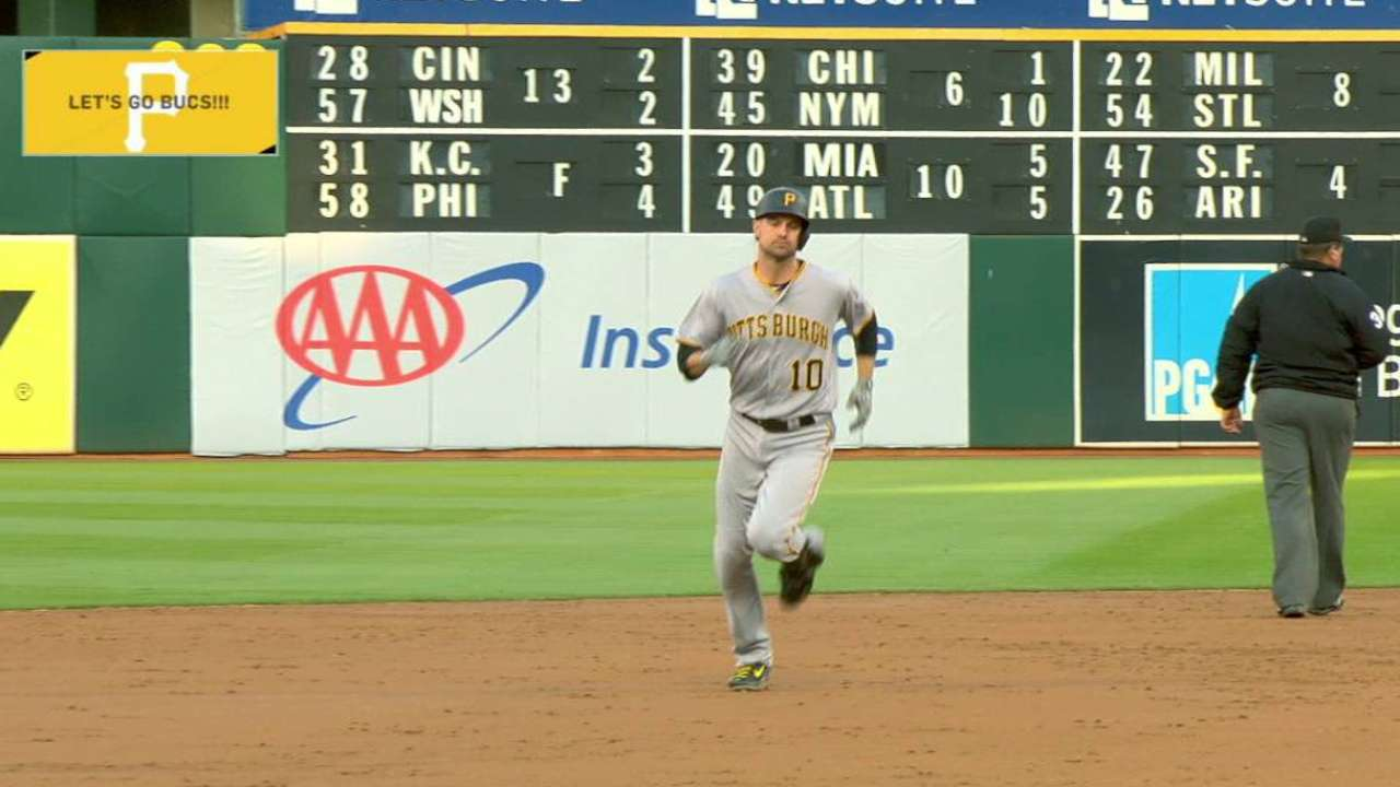 Pirates top A's, start July with a bang