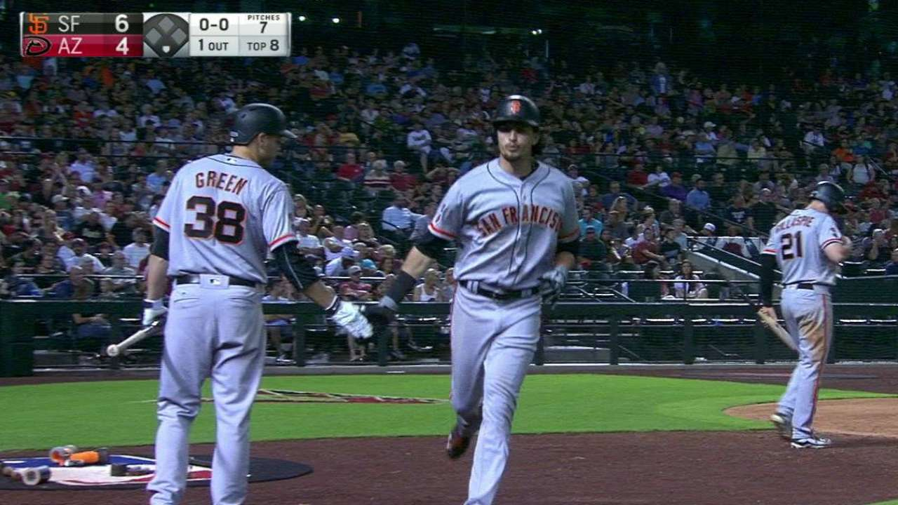 Parker's solo home run