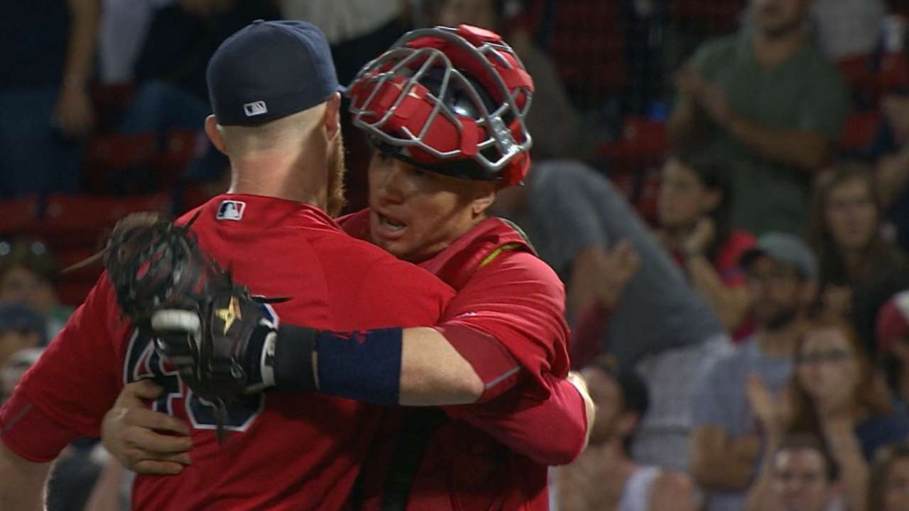 Red Sox escape with win in 9th