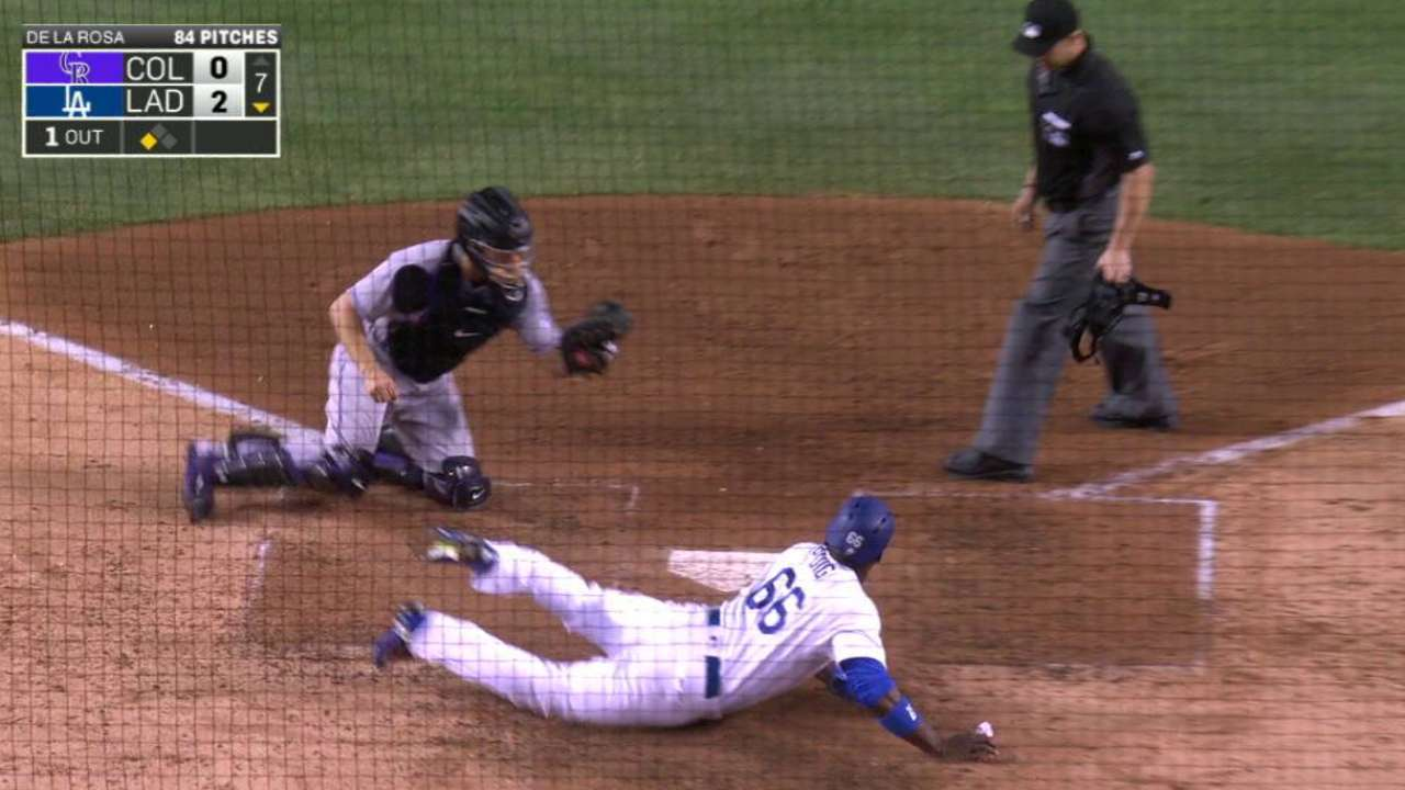 Barnes nabs Puig at home for DP