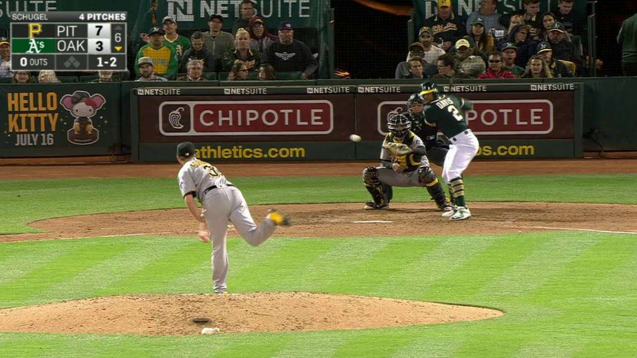 Schugel odd man out with Glasnow up