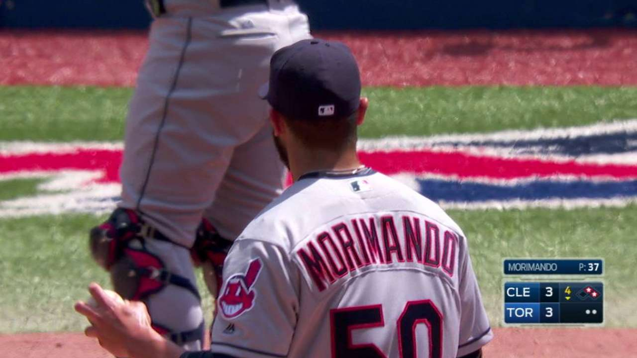 Morimando's first strikeout