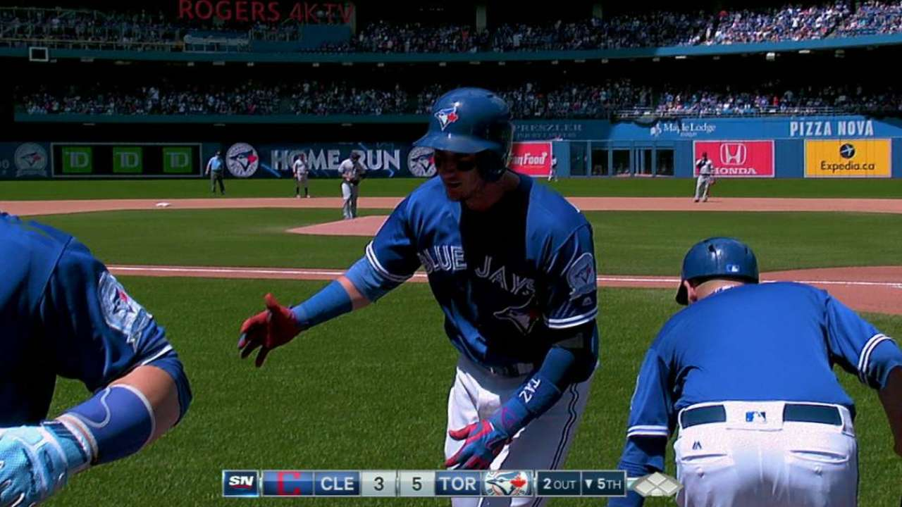 Tulo's two-run homer